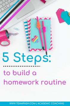 Homework time can turn quality time into quarreling time! How can you establish a positive homework routine that works? Tips from an academic coach to get you started!