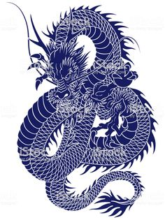 I described it in traditional Japanese technique, Blue Dragon Tattoo, Dragon Tattoo Drawing, Asian Dragon Tattoo, Dragon Sleeve Tattoos, Japanese Dragon Tattoos, Japanese Tattoo Designs, Japanese Tattoo Art, Traditional Japanese Dragon, Japanese Style