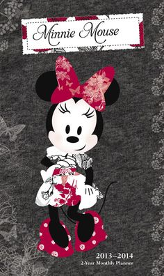 Buy Minnie Mouse 2013 2014 Pocket Planner online at Megacalendars More Mouse for the house! Minnie is here in a calendar all her own Minnie Mickey and all her friends have starred in the hit Playhouse Disney program and Minnie runs a neighborhood