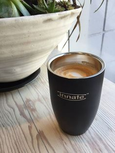 Innate Doppios x Elysian Coffee. The perfect espresso to end 2014. | #coffee #cappuccino