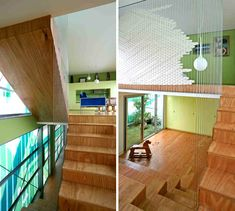 love the modern style, so open & awesome wood floors