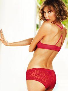 #KarlieKloss for the new #VS #lingerie/#Sleepwear. #Models #Supermodels #VSAngels