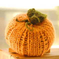 The Curly Pumpkin pattern