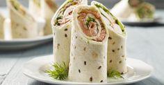 Recette de Wraps au saumon et tzatziki minceur. Facile et rapide à réaliser, goûteuse et diététique. Ingrédients, préparation et recettes associées.