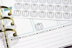 33 Weigh-in Stickers! Perfect for your Erin Condren Life Planner, Filofax, Kikkik, Plum Paper and other planner/agenda, or scrapbooking!