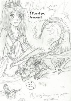 NaLu My Baby Dragon - My Pet Princess  Chap1 pg1 by Inubaki