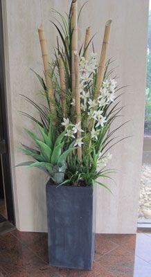 large artificial floral arrangements
