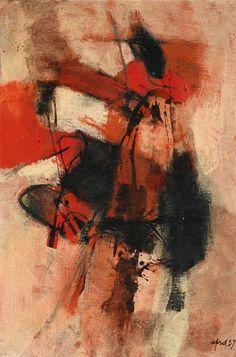 Composizione, 1957, Afro Basaldella