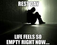 I have only been running a week and I already feel this way on rest days! This is a good thing for me.