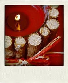 Wooden candle !  Bougie des bois !  {DIY}