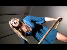 Knees to Waist Hooping trick with KaytiBunny!