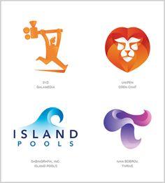 tendencias de diseño de logotipos 2015                                                                                                                                                     Más