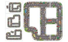 Puzzle circuit routier géant