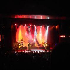 Tarja Turunen and her band: Alex Scholpp, Max Lilja, Tim Shreiner, Kevin Chown and Christian Kretschmar live at BARTS, Barcelona, Spain. The Shadow Shows, 06/11/2016 #tarja #tarjaturunen #theshadowshows #tarjalive PH: https://www.instagram.com/setsuvalentine/