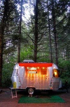 Awesome~ #airstream #christmasslights