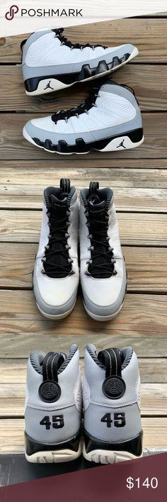 92be2230e8dfef AIR JORDAN 9 RETRO BARON SIZE 13 Very good condition No flaws other than  minor yellowing