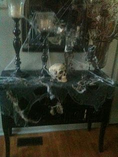 our halloween entrance