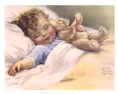 vintage nursery art  ... Bessie Pease Gutmann