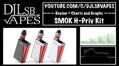 SMOK H-Priv 220W TC Kit Upgraded Version Review and Giveaway + Charts an...
