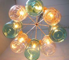 Coolest chandelier ever!