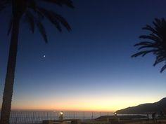 Atardecer, Playa