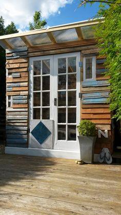 Pallet Summer House. GartenhausKnochenarbeitPaletten ...