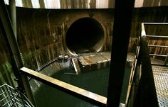 Discover G-Cans: the World's Largest Drain in Kasukabe, Japan: The world's largest drain sits below the city of Saitama, Japan. Urban Decay, Storm Water Drain, Tokyo, Sewer System, Secret Space, Ninja Turtles Art, Underground Cities, World Of Darkness, Scenic Design