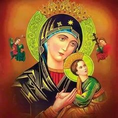 Our Lady pray for us  Jesus hear our prayers