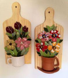 12 Ideas de cómo decorar tu cocina con tablas de madera de picar ~ Haz Manualidades