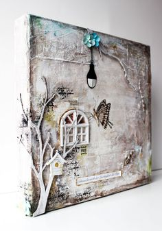 821 Best Mixed Media Canvas Images In 2019 Mixed Media