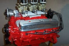 BUICK NAILHEAD 401 REBUILT .040 OVER TRI-POWER NEW PARTS, NICE ENGINE