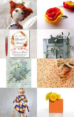 The Queen of Flowers by Silvia Paparella on Etsy--Pinned with TreasuryPin.com