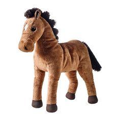 ✔ Ikea ÖKENLÖPARE Stoffspielzeug, Pferd