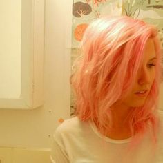 How To Give Yourself Cotton Candy Pink Hair