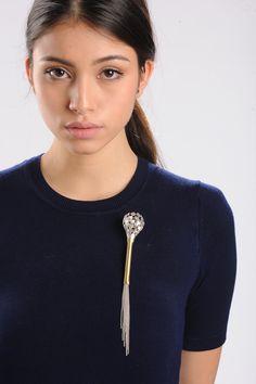 SYMBIOSIS_1 Brooch #contemporary #jewelry #schmuck #art #design #bijoux #contemporains #silver #brass
