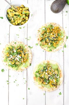 Zucchini and Corn Tacos recipe! These vegetarian tacos are so healthy and filling! You've gotta try them. Vegetarian Mexican Food that's ready in less than 30 minutes! | www.delishknowledge.com