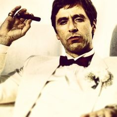 "Scarface (1983) - ""You need people like me. You need people like me so you can point your fuckin' fingers and say, ""That's the bad guy."""