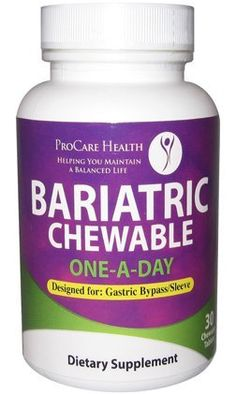 Bariatric Once-A-Day Multivitamin 90 Ct ...