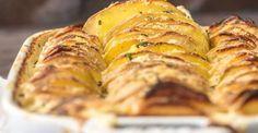 Cheesy Garlic Herb Scalloped Potatoe