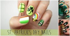 13 Glam Nail Designs for St. Paddy's Day