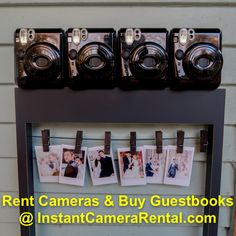 We rent Polaroids/Fujifilm Instax Cameras and instant cameras for weddings and other events. Photo Guest Book, Guest Books, Wedding Guest Book, Diy Wedding, Wedding Ideas, Instax Camera, Fujifilm Instax Mini, Polaroid Pictures, Polaroids