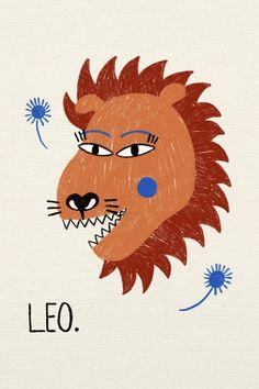Horóscopo Vogue Leo En Septiembre De 2020 Arte Del Zodiaco Ilustraciones Horoscopo Leo