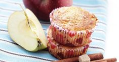 Recette de Muffins pomme-cannelle sans beurre. Facile et rapide à réaliser, goûteuse et diététique. Ingrédients, préparation et recettes associées.
