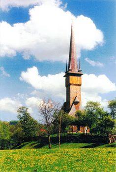 "ROMANIA (Maramureş) - The wooden Church in Plopiş - part of ""Wooden churches of Maramureş"" (UNESCO WHS)"