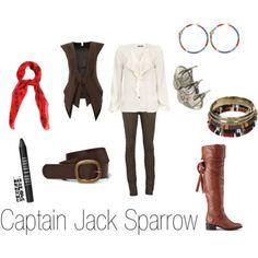 Dress like Captain Jack Sparrow