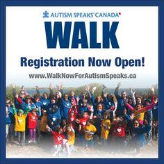 2016 Walk Registration is now open
