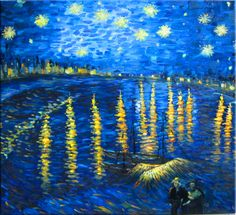 van gogh...i channel him when i look into his art!