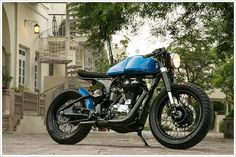 Rajputana Customs Numero Uno Cafe Racer was their first ever cafe racer built in 2013. This was built for Numero Uno Jeans. They wanted a c...