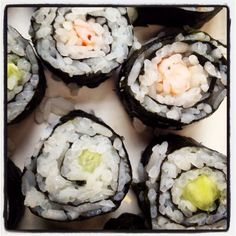 Sushi Maki #cuisine #cooking #faitmaison #homemade