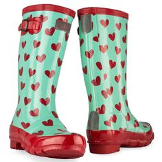 Wellies with Hearts!